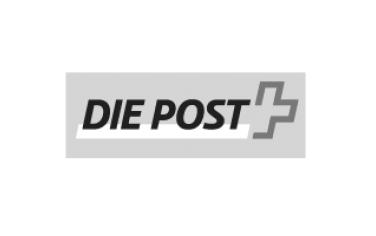 Ein zufriedener Kunde: Die Post